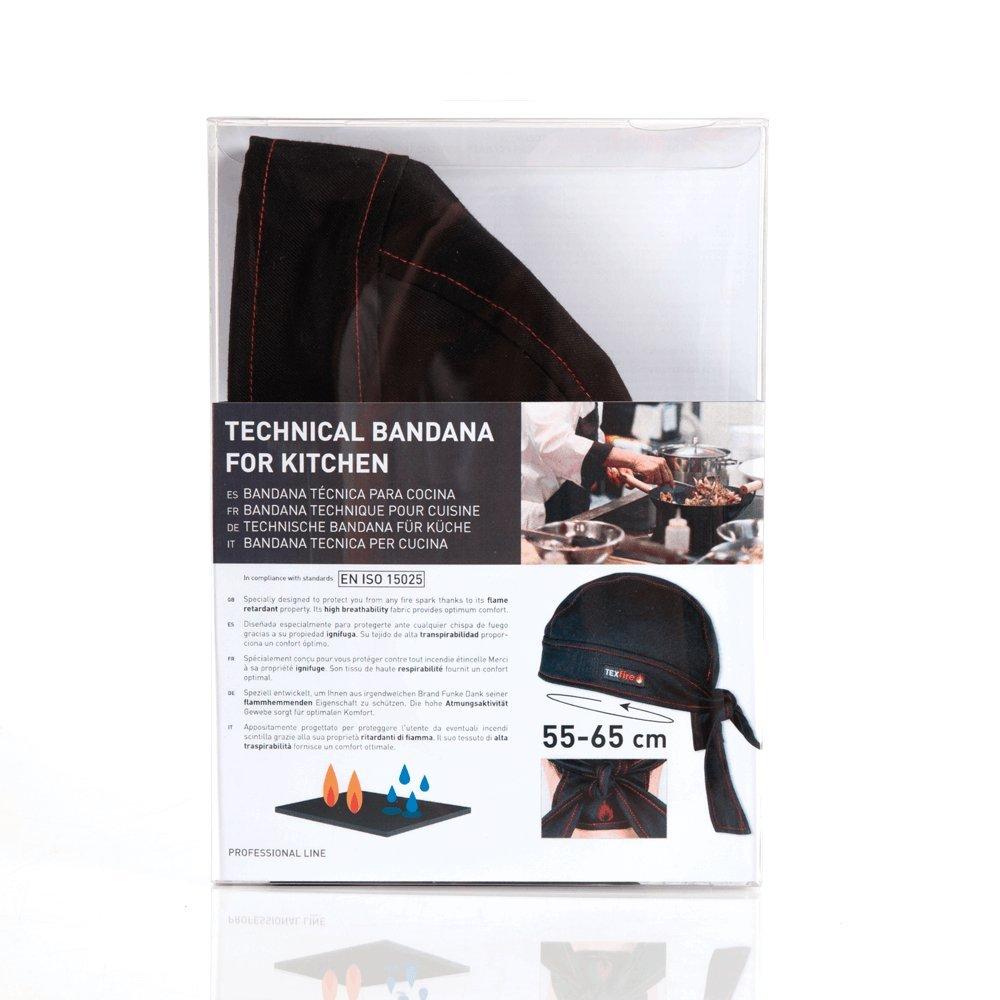 Bandana/gorro ignífugo y absorbente para cocina: Amazon.es: Ropa y accesorios