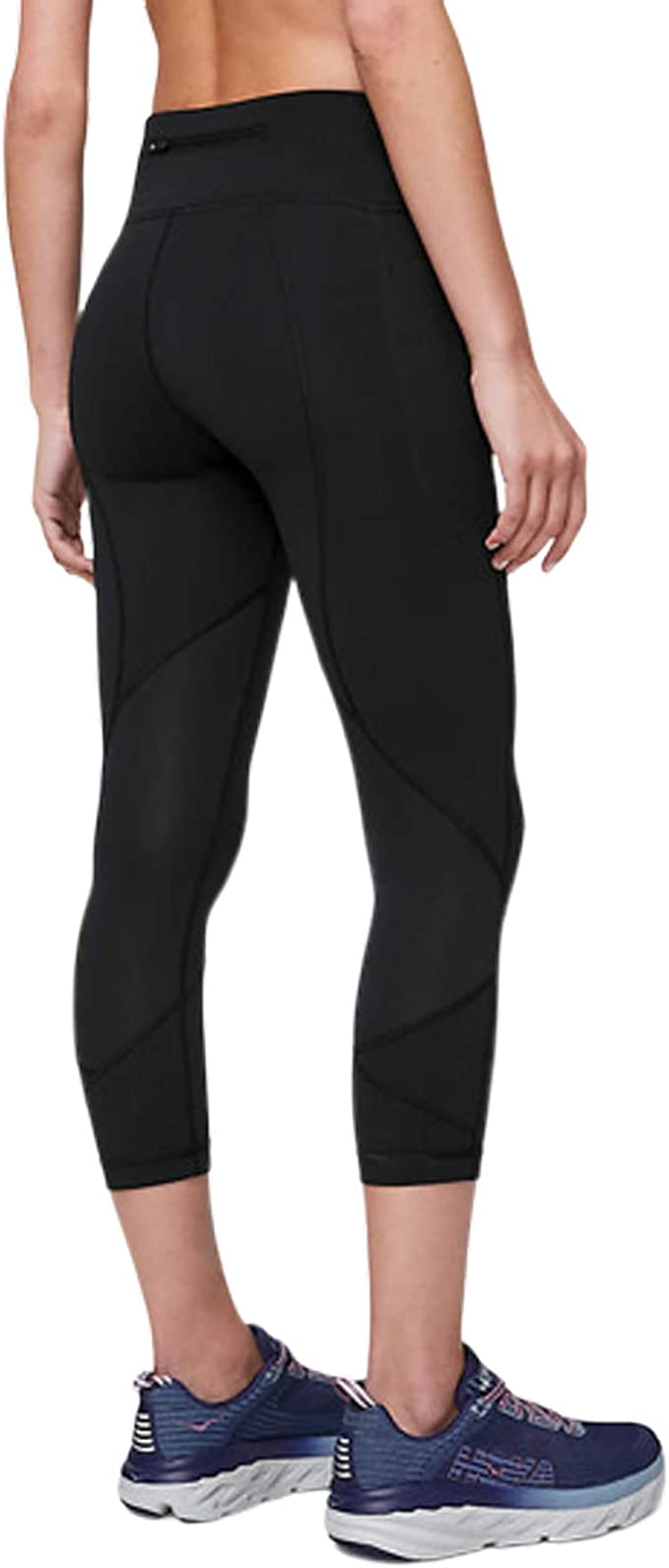 Amazon Com Lululemon Pace Rival Crop 22 Comfort And Convenient Design Strategic Pocket Position Gives You Plenty Of Storage Options Clothing