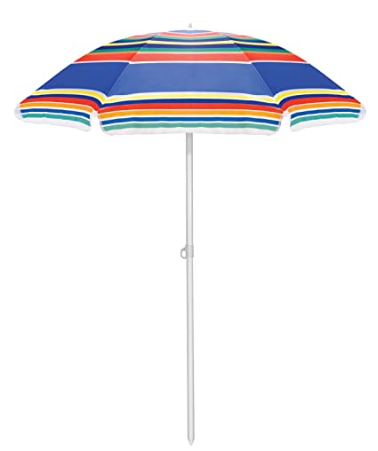 Picnic Time Portable Beach Umbrella