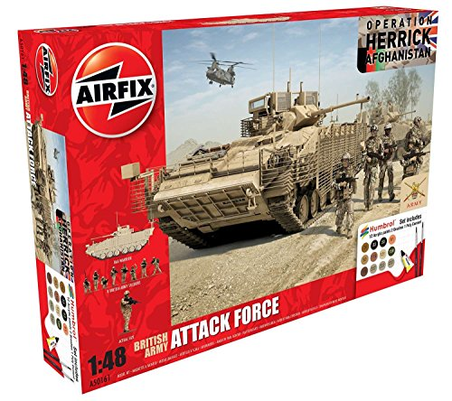 Airfix A50161 British Army Attack Force 1:48 Military Plasti