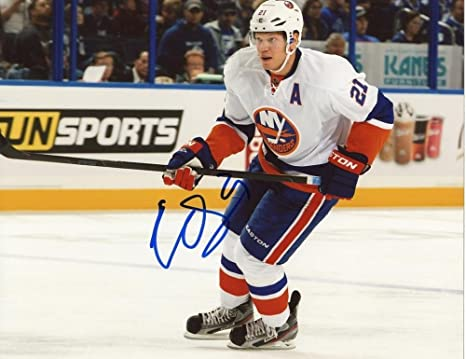 Image Unavailable. Image not available for. Color  Autographed Kyle Okposo  ... 5fd209375