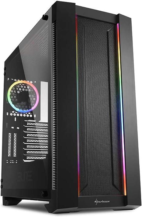 Sharkoon ELITE SHARK CA200M - Caja de Ordenador, PC Gaming ...
