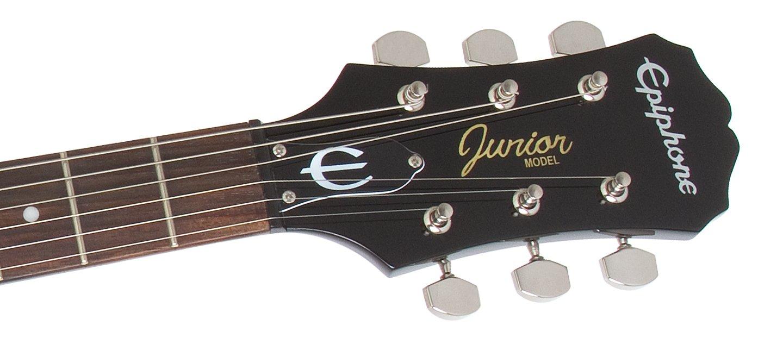 Amazon.com: Epiphone LP Junior Solid-Body Electric Guitar, Vintage ...