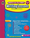Write from the Start! Writing Lessons Grd 5, Kristine Brown, 1420680730