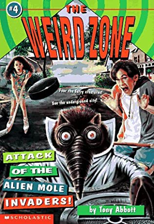 book cover of Attack of the Alien Mole Invaders!