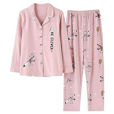 Amazon.com: Pajamas Set Primavera Otoño Rosa Dibujos ...