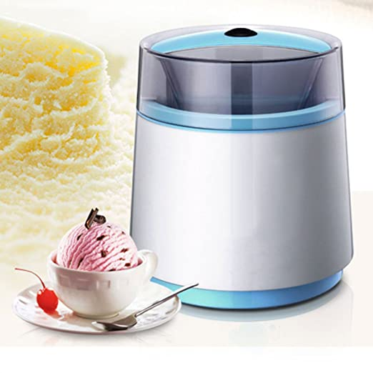 SHASHA Hielo Crema Creador Máquina Automático Enfriamiento Función ...