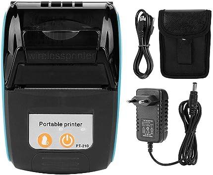 Tonysa Portátil Mini Impresora Tickets Térmica Bluetooth ...