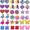 SoJourner Nipplecovers Rave Pasties - Nipple Covers Breast Petals for Women | Disposable Self Adhesive Cover