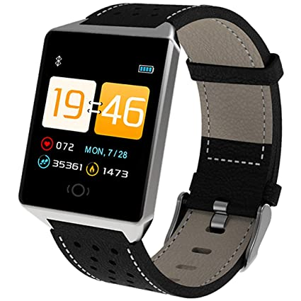 Amazon.com: Mens Smart Watch, Heart Rate/Blood Pressure ...