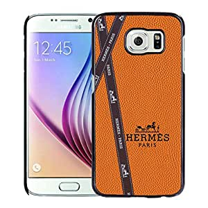 Fashionable And Durable Custom Designed Cover Case For Samsung Galaxy S6 With Hermes 7 Black Phone Case