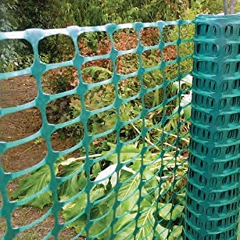 Loipen u.a. Absperrzaun Medium 140g//m/² zur Absicherung und Kennzeichnung von Baustellen Warnzaun Gefahrenzonen Bauzaun orange 1 x 50m