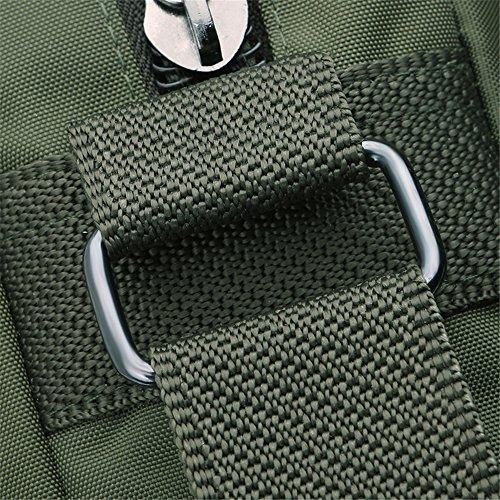 Genda 2Archer Paño de Nylon Impermeable Tracolla Bolsa Messenger Bolsa de Tirantes (22cm*8cm*29cm) (Verde) (Verde) Verde