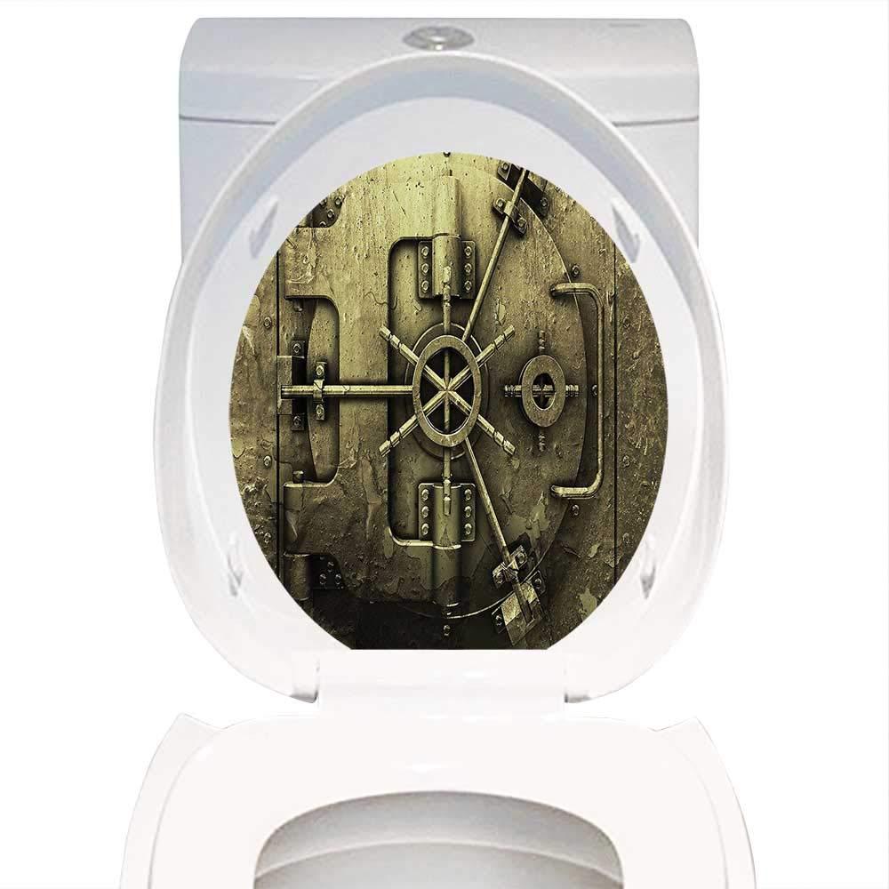 Super Amazon Com Qianhe Home Toilet Seat Sticker Rustic Decor Alphanode Cool Chair Designs And Ideas Alphanodeonline