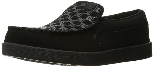 DC Villain Lowtop Chaussures, EUR: 43, Black Print