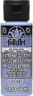product image for FolkArt Extreme Glitter Purple Prism Paint, 2 oz, 2 Fl Oz