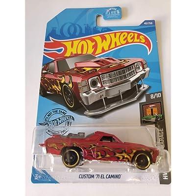 Hot Wheels 2020 Hw Dream Garage Custom '71 El Camino, Red 40/250: Toys & Games