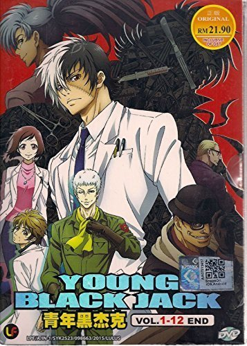 Young Black Jack (DVD TV 1 - 12 End) - Japanese Movie / English Subtitle All Region