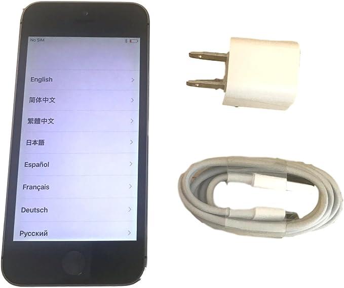 Apple iPhone 5s 32GB 4G Gris - Smartphone (iOS, SIM única, NanoSIM ...