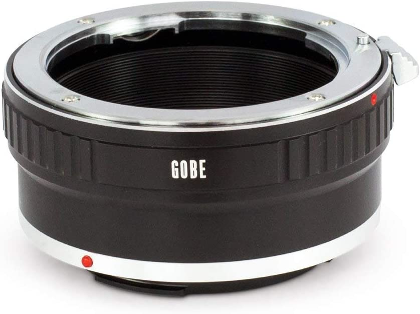 Lens and Canon EOS M Camera Body EF-M Gobe Lens Mount Adapter: Compatible with Nikon F G-Type