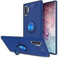 حافظة هاتف فائقة الحماية - مسند معدني على شكل حلقة - من السيليكون المرن - خفيف الوزن ونحيف (سامسونج جالكسي نوت 10 بلس…