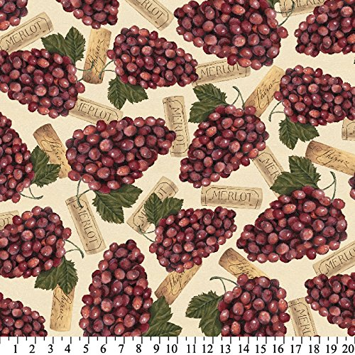 wine fleece fabric - 2