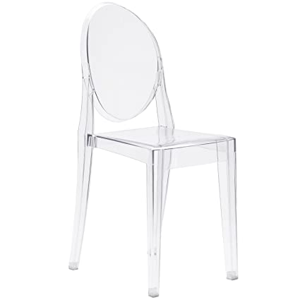 Poly And Bark Burton Side Chair, Clear
