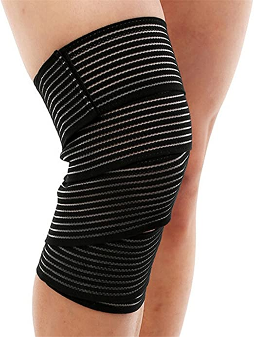 Amazon Com Unke 1 Pcs Elastic Knee Compression Bandage Wraps
