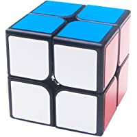 KidsPark 2x2 Rubix Cube, Magic Speed Cube Puzzle Toys For Kids & Adults, Black
