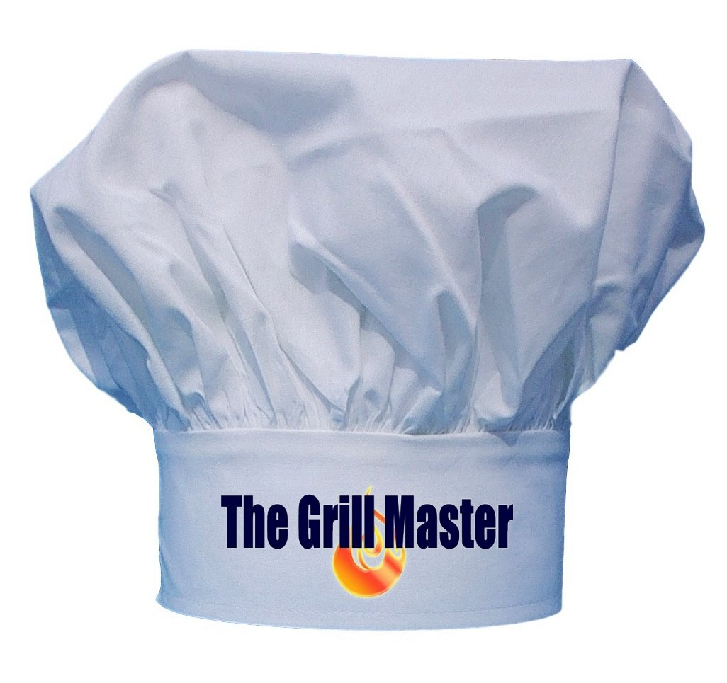The Grill Master Chef Hat | BBQ Toque Hats V-Tex Inc. HAT-109
