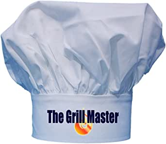 The Grill Master Chef Hat BBQ Toque Hats