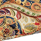 Pier 1 Imports Vibrant Paisley Full/Queen Size Bed Duvet Cover