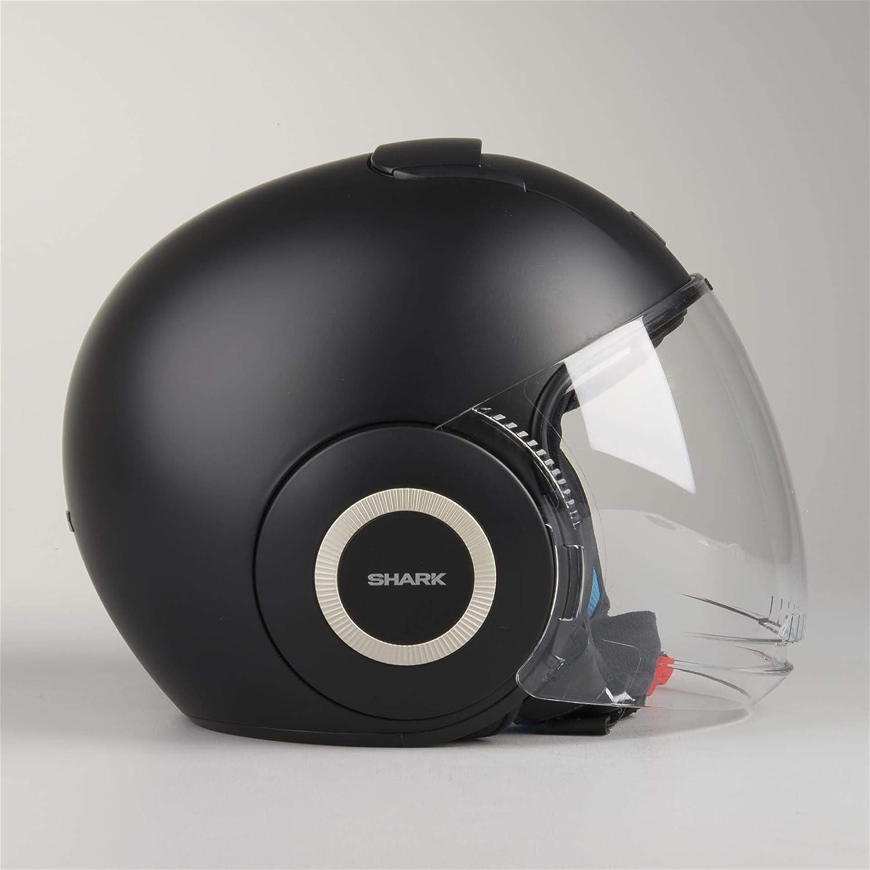 SHARK Nano Blank Motorcycle Helmets Size XS White