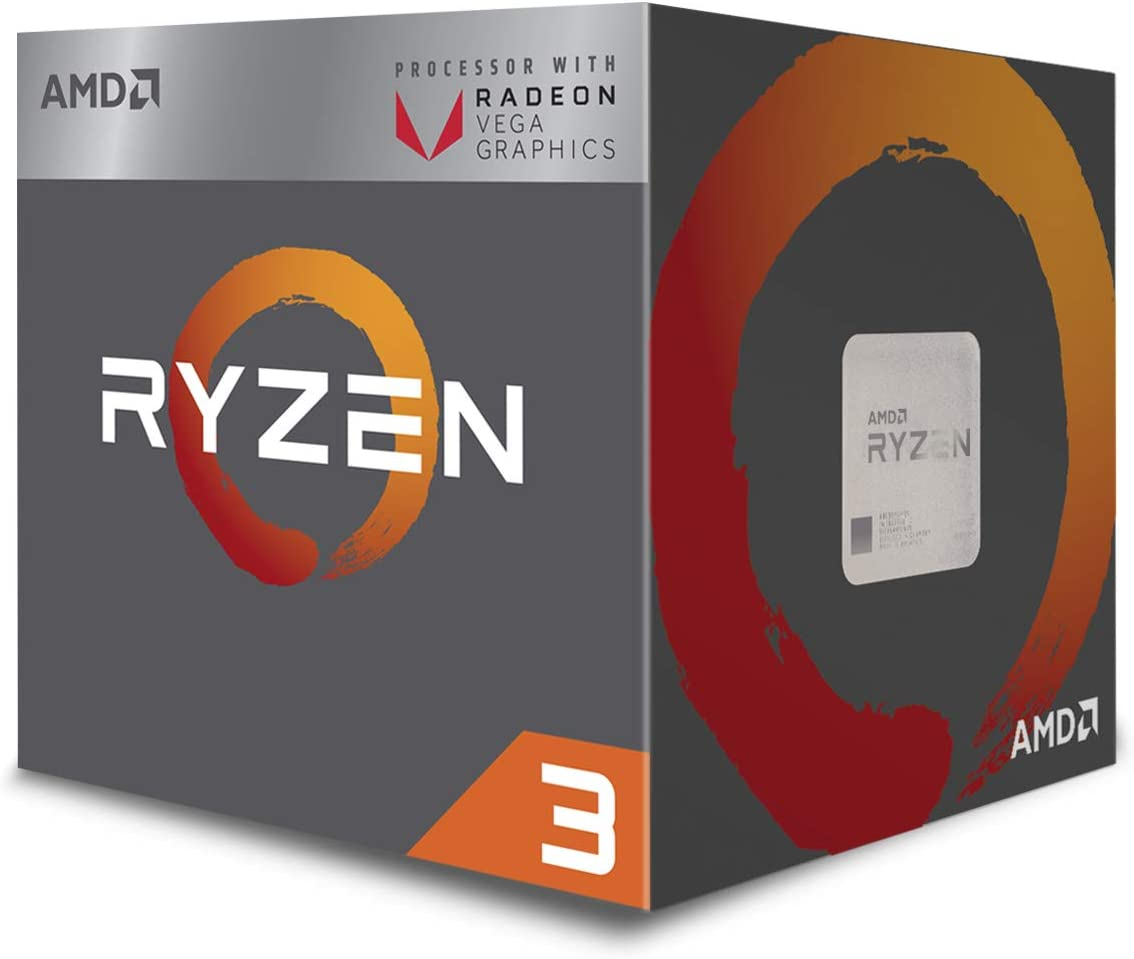 Amazon Com Amd Ryzen 3 2200g Processor With Radeon Vega 8 Graphics Yd2200c5fbbox Computers Accessories