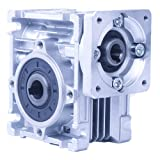 Worm Gear Gearbox NMRV-030 Speed Reducer Ratio 80:1 for Stepper Motor