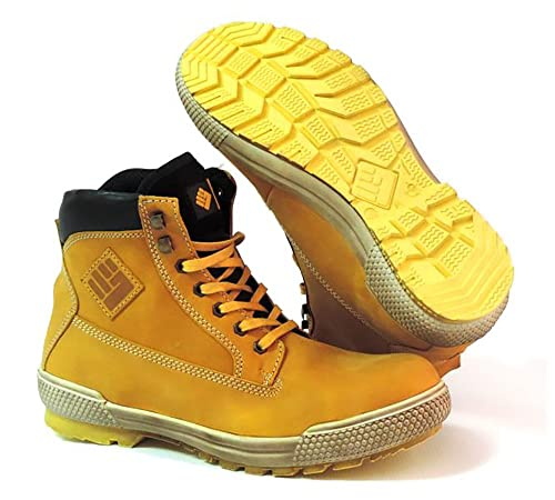 To Work For - Tiger s3 SRC HRO - Botas de Seguridad - Talla 35 - Camel: Amazon.es: Zapatos y complementos