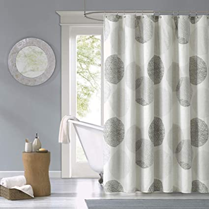 Amazon Madison Park Knowles Shower Curtain Grey 72x72 Home