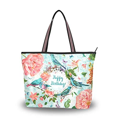 Image result for happy birthday flowers and handbag