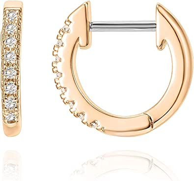GP DE Small State Earring in 14k Yellow Gold Plated Sterling Silver
