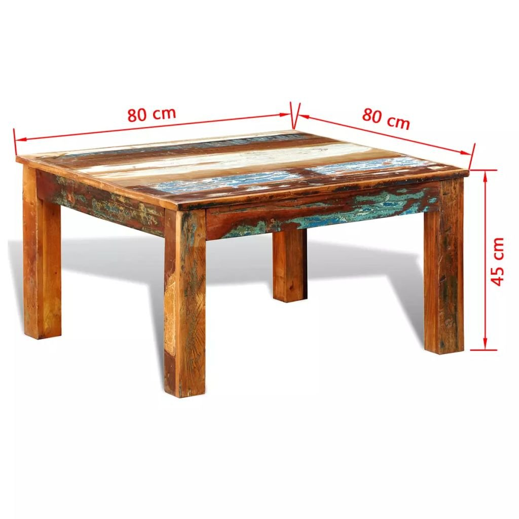 Side Tables For Living Room Amazon.com: Tidyard Square Vintage Coffee Table, Antique Handmade End Side  Table Living Room Furniture Reclaimed Wood: Kitchen u0026 Dining