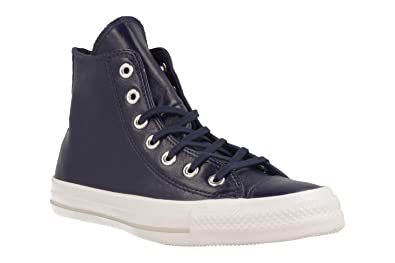 Converse CHUCK TAYLOR ALL STAR CRINKLED PATENT LEATHER HI MIDNIGHT NAVY/M women's Shoes (High-top Trainers) in Outlet Collections Find Great Sale Online 2018 Online Sale Largest Supplier 8svRhm