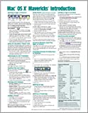Mac OS X Mavericks Introduction Quick Reference Guide (Cheat Sheet of Instructions, Tips and Shortcuts - Laminated Guide), Beezix Inc., 1939791065
