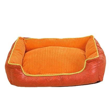 Nido para Mascotas Grano de maíz PP algodón Suave Adecuado para Gatos, Perros, Animales