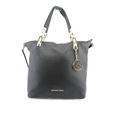 5780664ee73c Michael Kors Brooke Medium Tote Black  Amazon.co.uk  Shoes   Bags