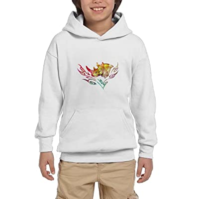 Save The Rhino Day Youth Pullover Hoodies Athletic Pockets Sweaters