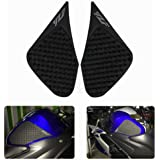 Motorbike Tank Pad Protector Sticker Decal Gas Knee Grip Tank Traction Pad Side For Yamaha YZF R25/R3 2013-2016