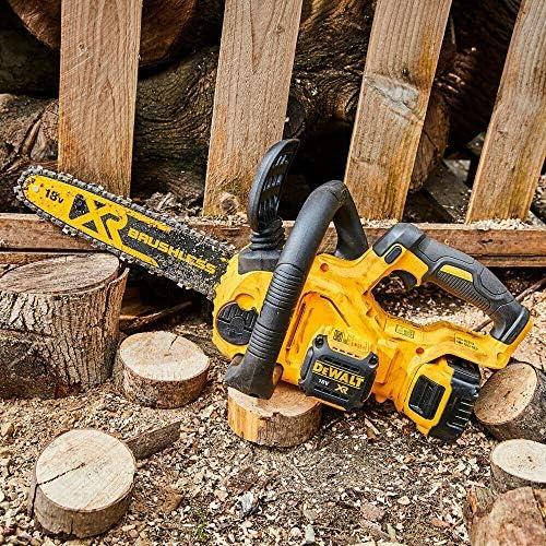 DeWalt DCM565 18V Cordless Brushless Chainsaw with Free Pocket Tape Measures 5M//16ft