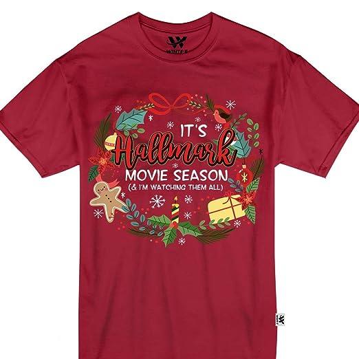 Hallmark Christmas T Shirt.Amazon Com It S Hallmark Movie Season And I M Watching Them