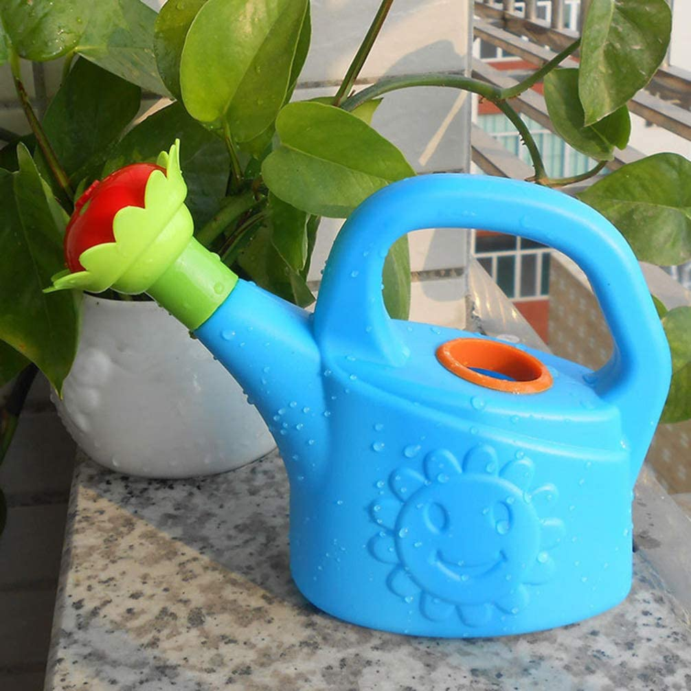 NUOBESTY Plastic Watering Can Chicken Watering Can Toys Home Garden Watering Can Kids Beach Bath Toy Random Color Pack of 2