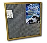 12x12x1 Electrostatic AC Furnace Air Filter Gold 94% Arrestance. Lifetime Warranty. Never Buy a New Filter